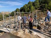Restauran dos de los pozos de la nieve más relevantes de Sierra Espuña