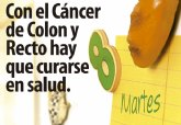La Concejalía de Salud Pública anima a la población, de entre 50 y 69 anos, a participar en el programa de prevención de cáncer de colon y recto
