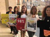 Murcia se adhiere por tercer año a la iniciativa 'Caminando por Libertad' que recorrerá las calles de la ciudad el día 20