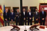 Toma de posesión de cuatro nuevos vocales del Consejo Social de la Universidad de Murcia