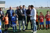 El Polideportivo Municipal de Torre Pacheco lleva el nombre de Jose A. García 'Tatono'