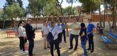 El Ayuntamiento de Murcia reforzará el vallado y la seguridad perimetral del colegio Antonio Delgado Dorrego de Sangonera la Verde