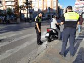 La Policía Local inicia los controles de vigilancia sobre vehículos para comprobar que no sobrepasan los límites de ruido permitidos
