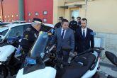 Presentadas dos nuevas motocicletas para la Policía Local