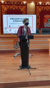 El Ayuntamiento de Molina de Segura firma un convenio de subvención nominativa con la Organización de Mujeres Empresarias, Profesionales y Directivas de la Región de Murcia para la creación de la sede OMEP Vega Media