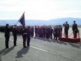 El alcalde de Alcantarilla, Joaquín Buendía, asiste a los actos de la Patrona del Ejército del Aire, en la Base Aérea