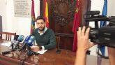 El presupuesto del Ayuntamiento crece por segundo año consecutivo con el objetivo de seguir trasladando a los lorquinos la mejora de las cuentas municipales