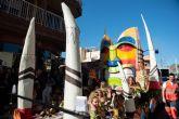 La escuela de danza ´De Rosa´ vuelve a ganar el desfile de carrozas
