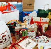 Campaña navidad en el comercio local. Sigue la navidad con Rodolfo y Doroteo