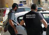 La Guardia Civil desmantela un grupo delictivo dedicado a robar en viviendas de San Javier