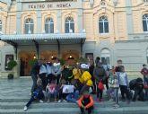 Los más jovenes del barrio del Carmen, de visita por Murcia