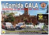 El Automóvil Club Totana organiza la I comida gala, que tendrá lugar el domingo 21 de enero