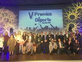 San Javier celebró anoche su fiesta anual del deporte con la Gala de entrega de premios a los mejores de 2016