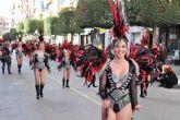 Alcantarilla celebró este domingo su gran desfile de Carnaval, con la 'Música' como temática