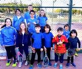 La Escuela de Tenis Kuore Totana participó en una jornada de 'PEQUETENIS' con los más peques de la escuela