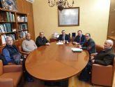 El Ayuntamiento de Ceutí trata con la CHS la afección de la autovía del Arco Noroeste al cauce de Rambla Salada
