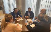 El alcalde de Lorquí recibe a miembros de la FREMM para entablar posibles colaboraciones