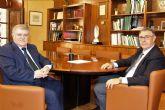 Mario Urrea se reúne con José Vélez, alcalde de Calasparra
