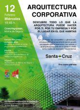 La Oficina Municipal de Empresas de Molina de Segura prosigue el miércoles 12 de febrero con la segunda conferencia del ciclo Febrero, mes de las charlas empresariales, titulada Arquitectura Corporativa