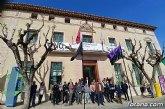 Totana guarda un minuto de silencio en reconocimiento a las víctimas de los atentados del 11-M