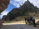 Agricultura realizará trabajos de protección contra desprendimientos de rocas en Ojós