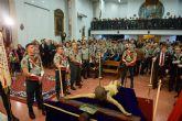 Los desfiles de los antiguos legionarios en el Puerto y de las promesas en Mazarrón retoman el calendario de procesiones en el municipio