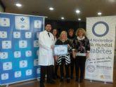 ElPozo Alimentaci�n y sus trabajadores donan 1.500 euros a la sociedad de diab�ticos de Cartagena