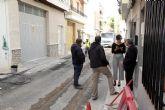 Arrancan las obras para modernizar las calles Santa Matilde, Campoamor y Tirso de Molina