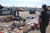 Policía Local destruye miles de artículos de material falsificado incautado durante el verano