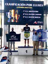 El Club de Natación Master Murcia bronce en el Campeonato Nacional máster de natación