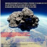 Manana pasará un asteroide NEO muy cerca de la Tierra