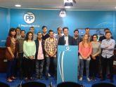 Teodoro García El PP se presenta a las elecciones como la única garantía de futuro para los jóvenes de la Región