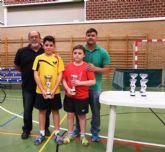 Triunfo de las bases mazarroneras de tenis de mesa en el Open Auton�mico de Murcia