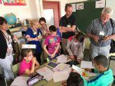 Profesores y Asesores de diferentes países Europeos visitan el Colegio Hernández Ardieta de Roldán