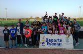 La Fase Local de Atletismo de Deporte Escolar contó con la participación de 73 escolares de los diferentes centros de enseñanza