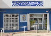 La Policía Local detiene a dos supuestos autores de robo en una vivienda en Puerto Lumbreras