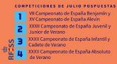 Salvamento y Socorrismo suspende la Copa de Playa de mayores y pospone todo el calendario previsto para julio