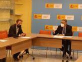 El Presidente de la CHS ha mantenido una reunión de trabajo con el Alcalde de Torre Pacheco