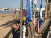 Águilas lucirá el distintivo de Bandera Azul en 9 de sus playas y 2 en Puertos Deportivos