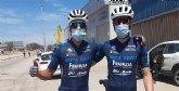 Juan Carlos Gandía del Terra Sport Cycling Team, sigue cuarto en la general después de un fin de semana caótico