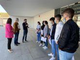 Alumnos del Luis Manzanares realizan sus prácticas en el Ayuntamiento de Torre Pacheco