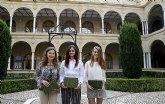 Los premiados en la I Olimpiada Constitucional reciben su distinción en la Universidad de Murcia