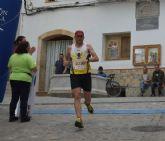 Juan Francisco García, del Club Atletismo Totana, participó en la Carrera Popular de Serón (Almería)