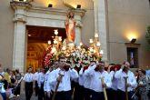El Sagrado Corazón de Jesús cumple con su tradicional procesión en Las Torres de Cotillas