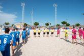 La liga nacional de fútbol playa estrena las nuevas instalaciones del complejo deportivo