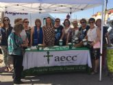 La AECC vuelve un año más a salir a la calle en Las Torres de Cotillas