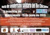 La Ruta de Senderismo solidario del Río Chícamo, actividad solidaria con D´Genes y AELIP, se celebrará el próximo 15 de junio
