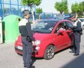 La Policía Local denuncia a 43 conductores de los 324 controlados durante la campaña de vigilancia del uso del Cinturón de Seguridad y Sistemas de Retención Infantil que se efectuó a finales de mayo