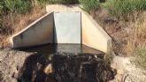El PSOE denuncia ante la CHS un nuevo vertido de aguas residuales al cauce de la Rambla Alta