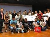 Alumnos del colegio Reina Sofía han recibido de la Consejería de Educación el premio a la solidaridad Social